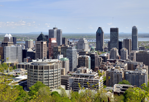 Montreal's Central downtown neighborhoods