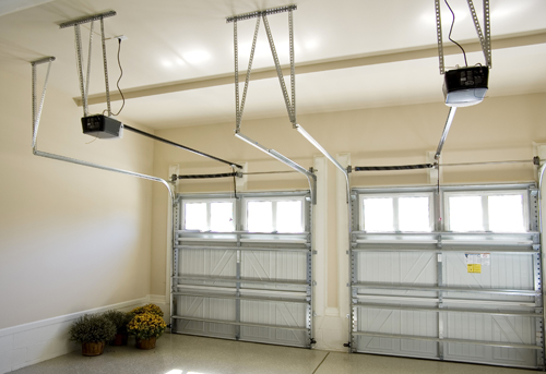 2-Car Garages with Storage Space