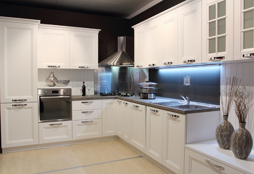 Stainless built-in Kitchen appliances