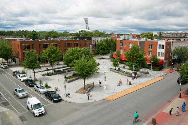 A little less fashionable than others in Montreal, the neighborhood of Hochelaga-Maisonneuve offers affordability and an abundant supply of condos and rentals.