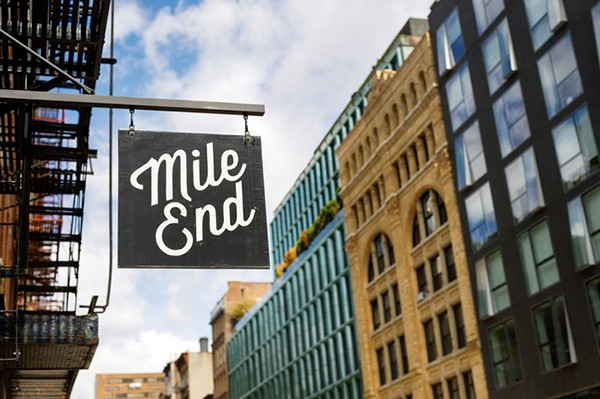 The Mile-End neighborhood boasts a wide array of bars and restaurants as well as special events