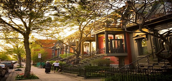The Mile-End neighborhood in Montreal is a predominantly English community that is quite popular among young and successful adults